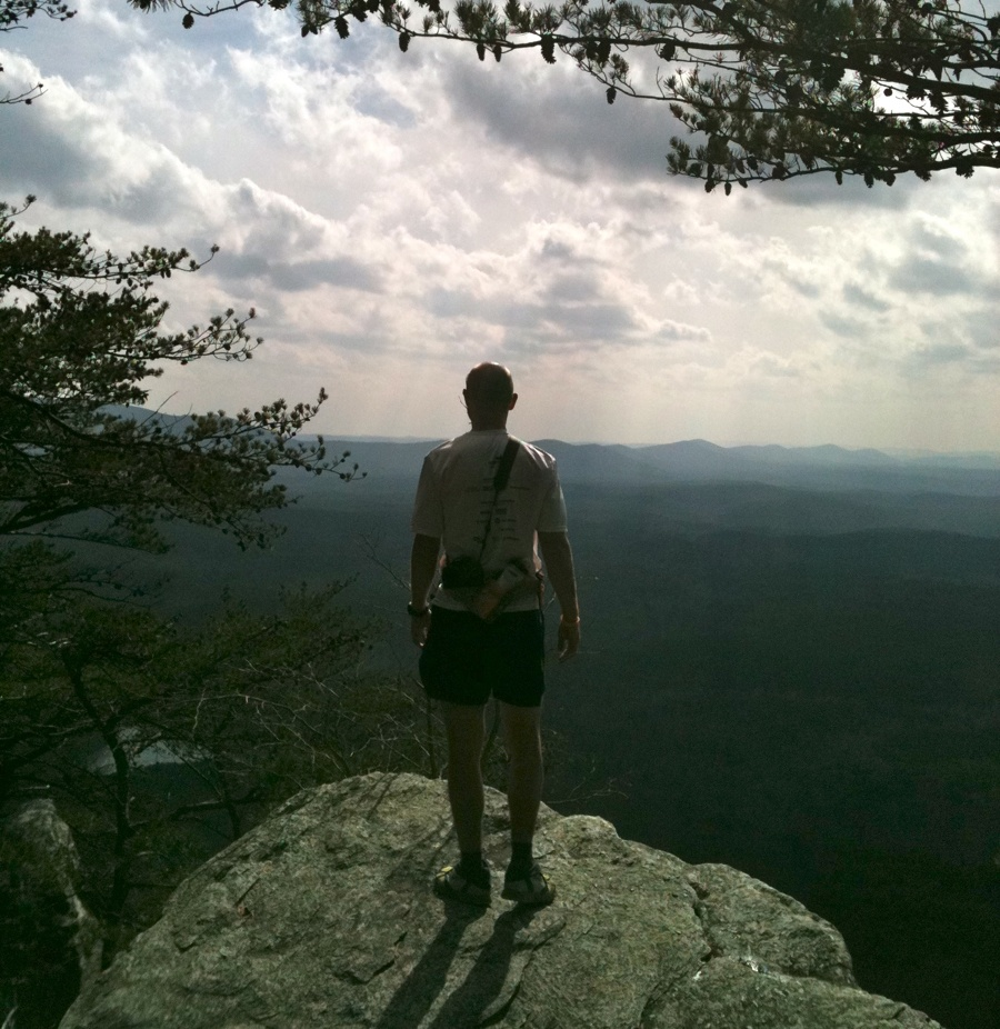 mark kreuzer at Cheaha State Park