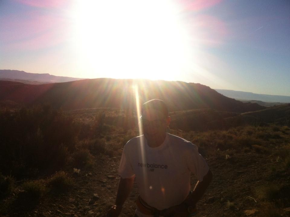 Daybreak at Desert RATS 25 mile race