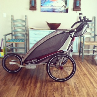 Must-Have Mommy Gear — Chariot CX Running Stroller