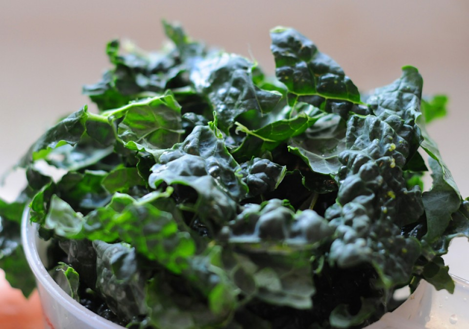 Sexy Kale Salad: Vegan Ultrarunning Recipes