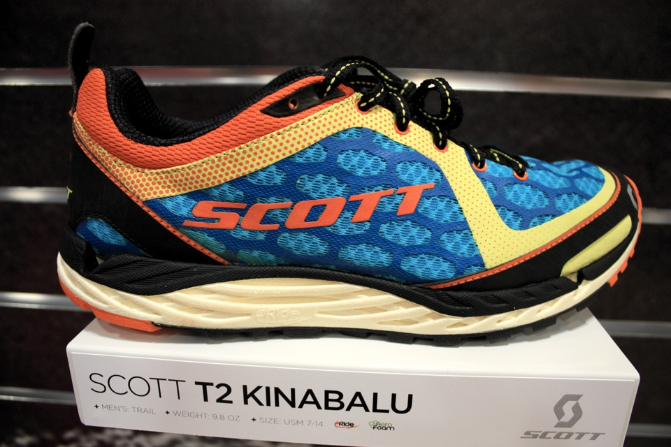 2013 scott trail shoe with blown EVA foam