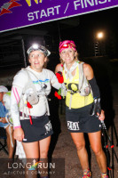 Amy and I at the Finish of Waldo 100k.