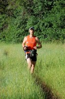 The author during the 2010 Kat'cina Mosa 100k