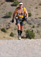 Phil Lowry in the Pony Express Trail 100, possibly the most accurate 100 mile event in the US.