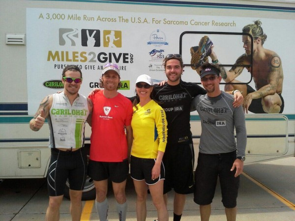 Miles 2 Give – Ultra Running for Sarcoma cancer research and awareness