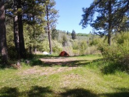 Camping at Pocatello