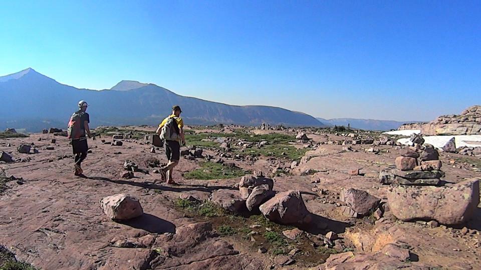 Starting into Rocky Basin