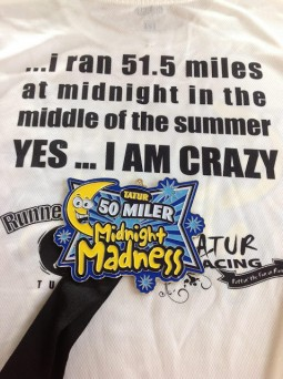 Midnight Madness T-shirt and medal