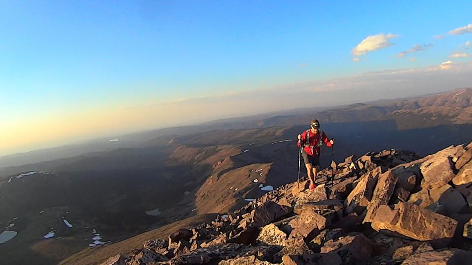 Summiting Mt Tokewanna