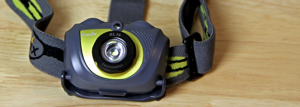 picture of fenix hl30 headlamp headlight