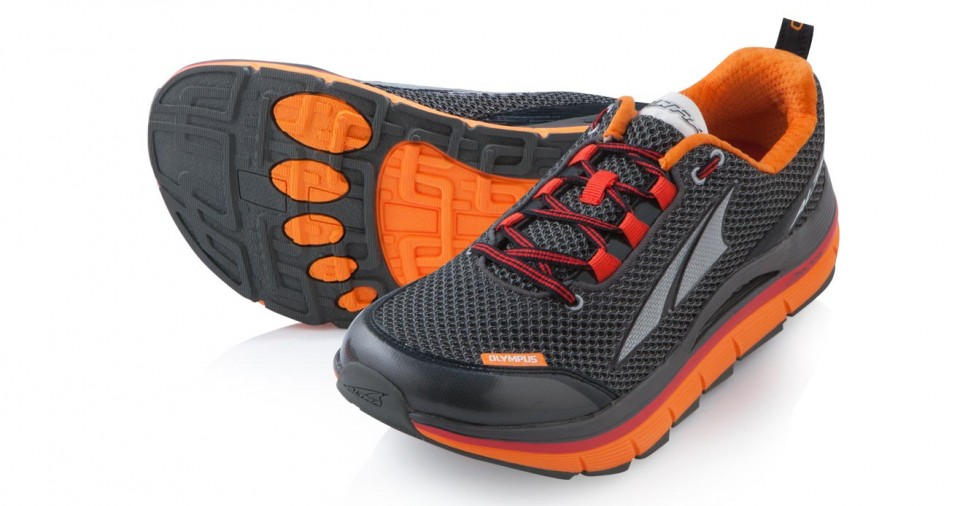 Men's Olympus in Black/Orange
