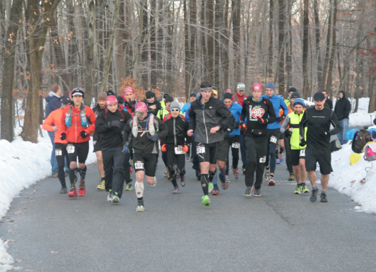 Start of Feb Apple Frozen 50-Miler