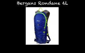 The Rondane 6L is a pack from Bergans of Norway. The pack boasts a unique patented stabilization system and a snug fit for a variety of uses, including running, cycling and hiking. Our testers found the pack to be less then ideal for running. The pack comes with an internal liner and heavy bladder. The bladder can be easily switched , but the back linear is not removable. The pockets on the straps held just a gel, while the rear storage felt much less then the advertised 6 liters due to the shallow construction. The pack feels very long and may fit oddly for those with shorter frames.  With all of this said, we have really been impressed with our dialogue with Bergans and hope to see a lot of improvement in the near future.