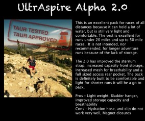 UltrAspire Alpha 2.0