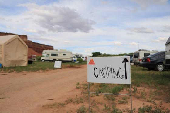 Camping at Capitol Reef