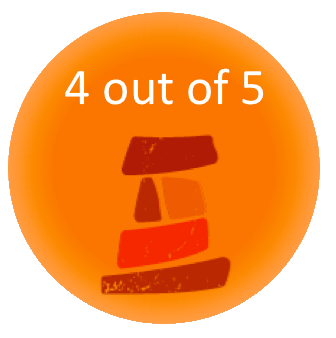 4 out of 5