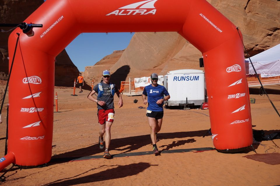 Finishing the Antelope Canyon 50 Miler