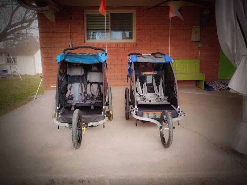 2018 burley encore vs 2019 burley d lite x stroller. Black Bedroom Furniture Sets. Home Design Ideas